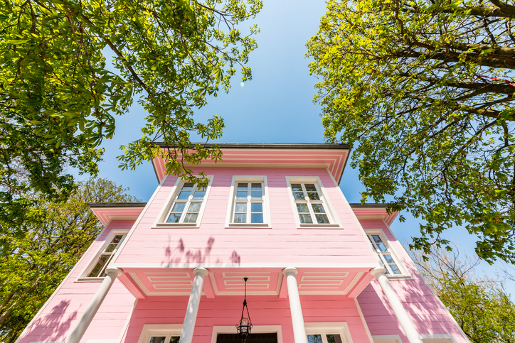 You Can Paint Your Exterior In April